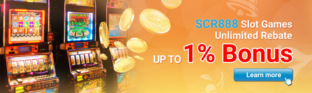 Slot game rebate up to 1%