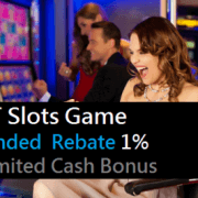 SCR888 1% Slot Games EXTENDED REBATE Unlimited Bonus