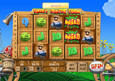 SCR888 SKY888 Funny Slot Game Funky Fruits Farm Malaysia