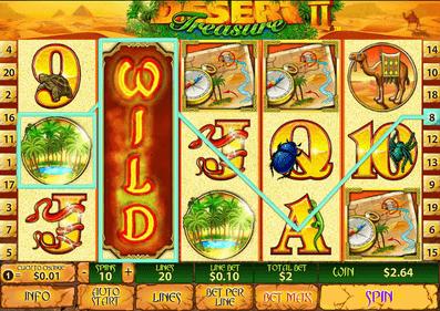 SKY888 918Kiss(SCR888) Desert Treasure 2 Slot Game Download
