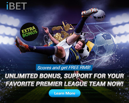 iBET Online Casino Unlimited Bonus – Scores and Get Free RM8!