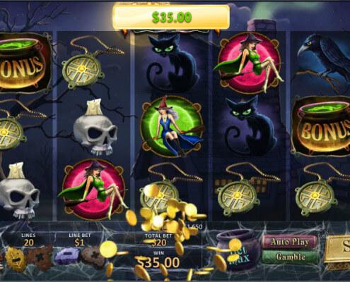 SKY888 Halloween Fortune Slots