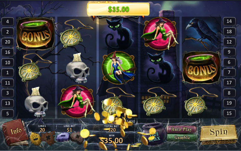SKY888 Halloween Fortune Slots machine