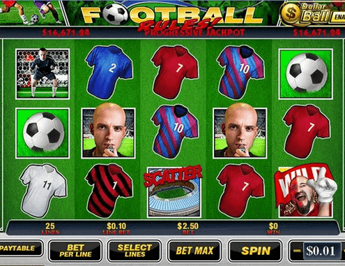 918Kiss(SCR888) Casino Free Football Rules Slot Game GOAL