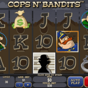 SKY888 Funny slot machine game Cops n' Bandits