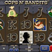 SKY888 Funny slot machine game Cops n' Bandits