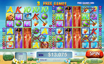 Slot Game Sunset Beach