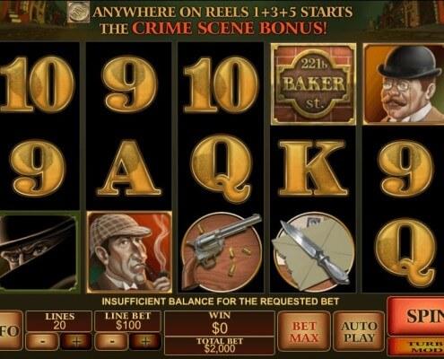 SCR888 SKY888 Detective slot machine game Sherlock Mystery