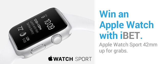 SCR888 Win an Apple Watch Promotion
