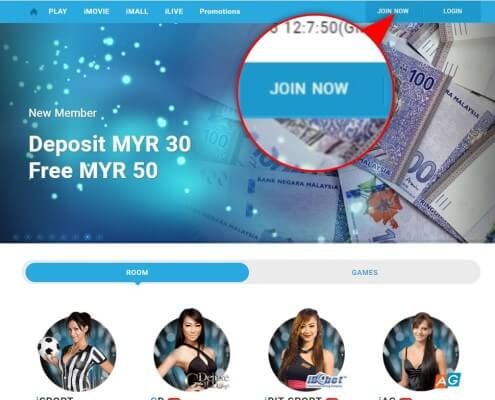 Register iBET 918Kiss(SCR888) Online Casino is so easy 1
