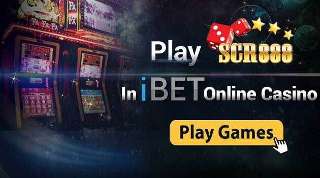 Play SCR888 In iBET online Casino