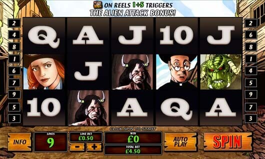 scr888 download Cowboys and Aliens Slot