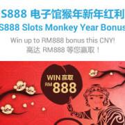 918Kiss(SCR888) Golden Monkey Bonus WIN MYR888 in S888 Slot Game!