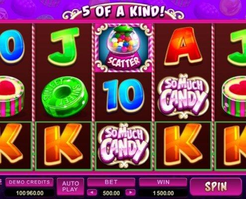 m.scr888.com So Much Candy Slot the Sweetest Test Ever