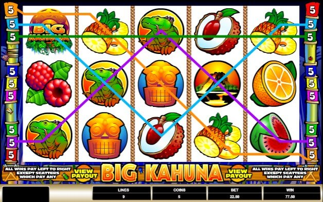 scr888 Casino Big Kahuna Slot Be the King of Jungle
