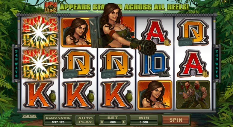 scr888 Casino Slot Girls With Guns Fight with the Sexy Girls1
