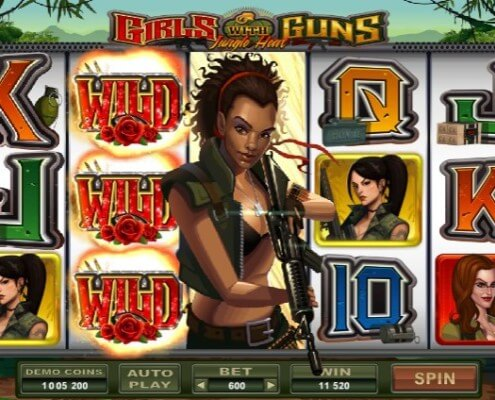 scr888 Casino Slot Girls With Guns Fight with the Sexy Girls2