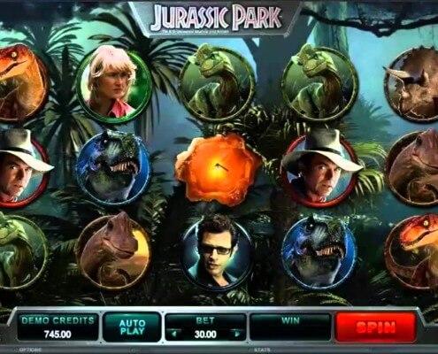918Kiss(SCR888) Casino Slot Game Jurassic Park Free Play2