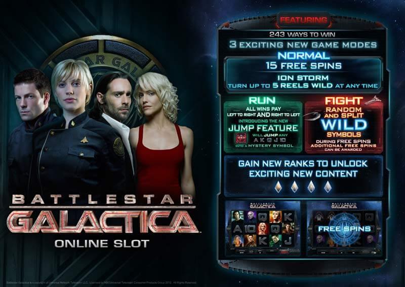 SCR888 Login Casino Battlestar Galactica Slot Game1