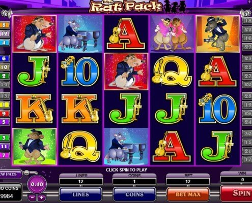 SCR888 Login Casino The Rat Pack Cool Slot Game2