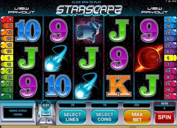 Star Raiders Slot Machine - Play Online for Free Now