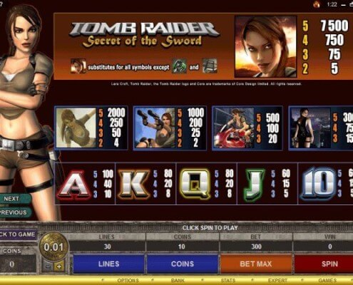 SCR888.com Tomb Raider Login Casino Slot Machine!1