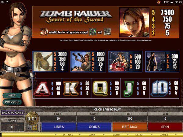 SCR888.com Tomb Raider Login Casino Slot Machine!1