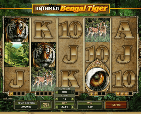 Play 918Kiss(SCR888) Login Bengal Tiger Adventure Slot Game!1