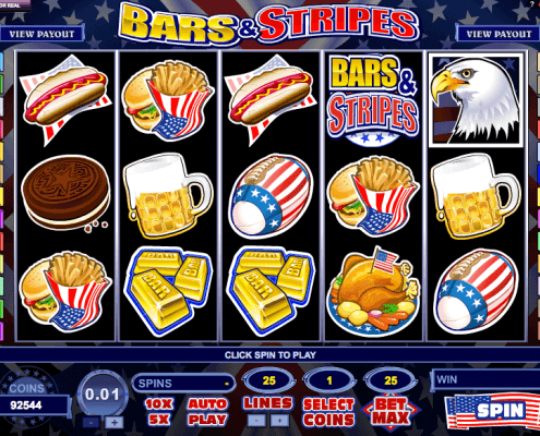 SCR3888 Funny Slot Game Bars and Stripes With Bonus1