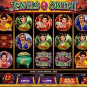 SCR3888 Loging Casino Jewels Orient Slot Game 1