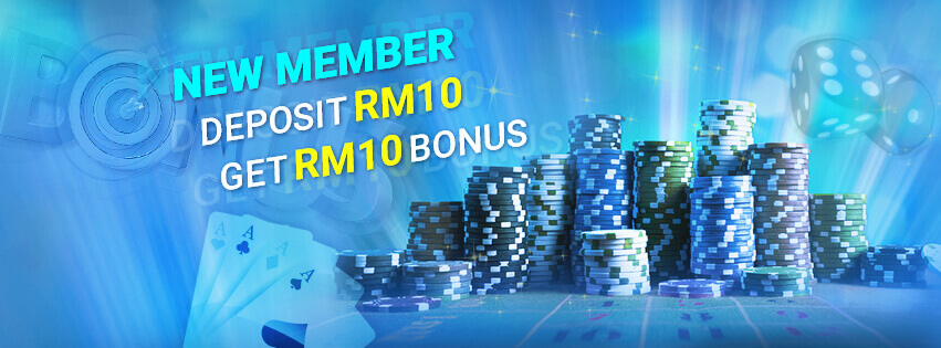 918Kiss(SCR888) Deposit RM10 FREE RM10 Promotion Get Bonus