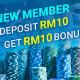 918Kiss(SCR888) Deposit RM10 FREE RM10 Promotion Get Bonus!2