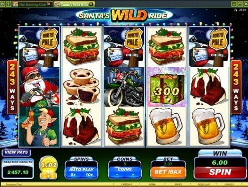 918Kiss(SCR888) Login Casino Santa's Wild Ride Slot Machine!1