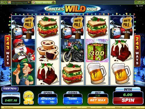 918Kiss(SCR888) Login Casino Santa's Wild Ride Slot Machine!