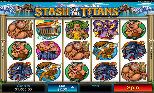 SCR888 Login Stash Of The Titans Slot Machine Games 1