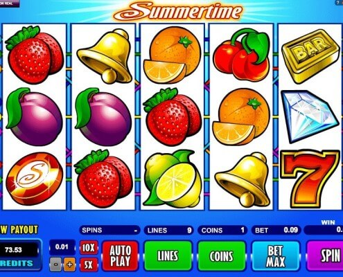 918Kiss(SCR888) Wonderful Slot Game Summertime Get Jackpot1