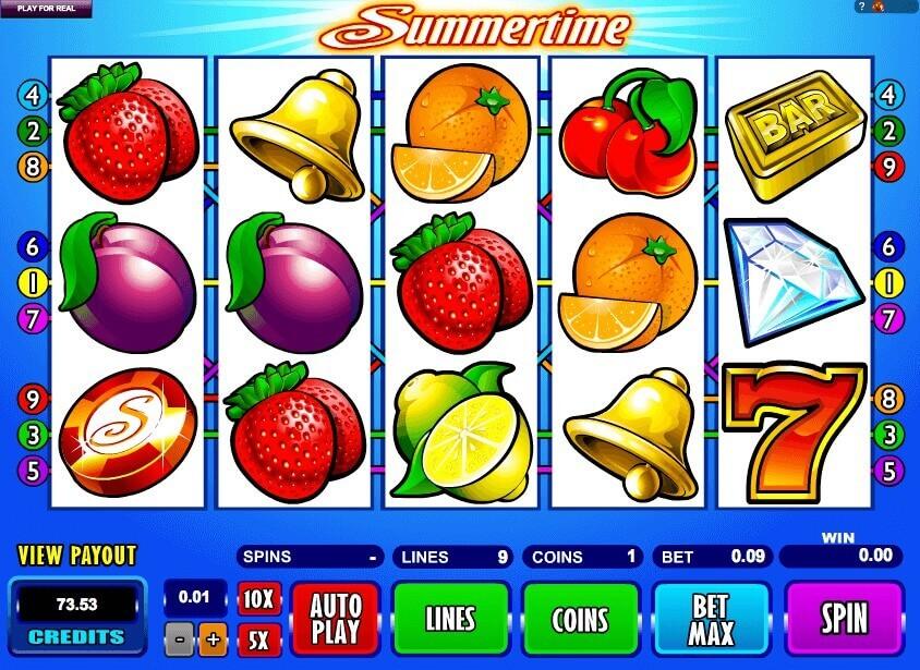 SCR888 Wonderful Slot Game Summertime Get Jackpot!