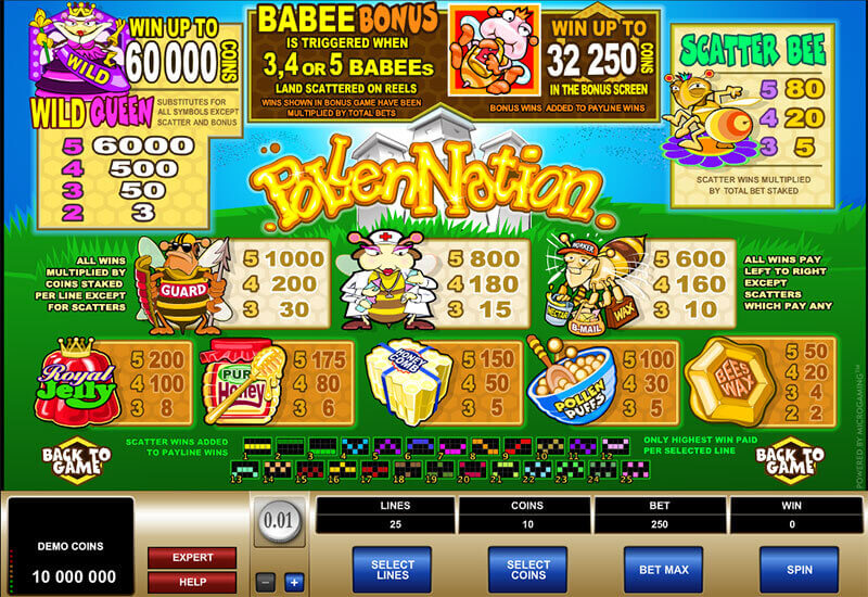 Play Pollen Nation 918Kiss(SCR888) Online Slot Game!1
