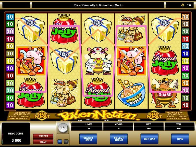 Play Pollen Nation 918Kiss(SCR888) Online Slot Game!