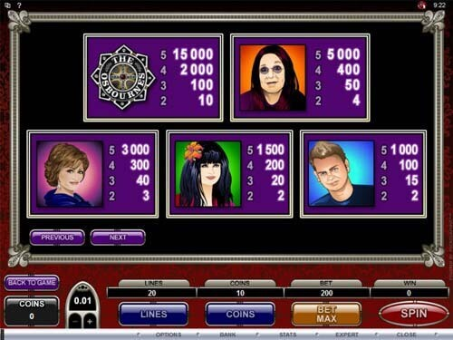 Play SCR888 Casino Download The Osbournes Slot Game2