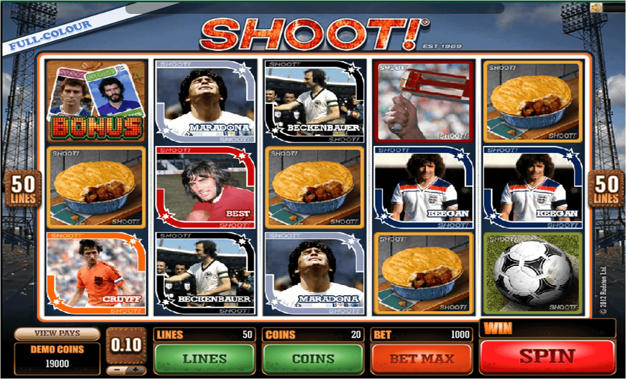 918Kiss(SCR888) Casino Download Football Slot Game Shoot!1