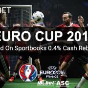 SCR888 iBET 2016 Euro Sportsbet 0.4% Cash Rebate1