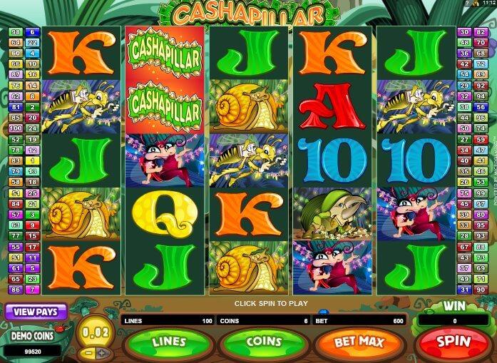 918Kiss(SCR888) Cashapillar Funny Online Slot Game!
