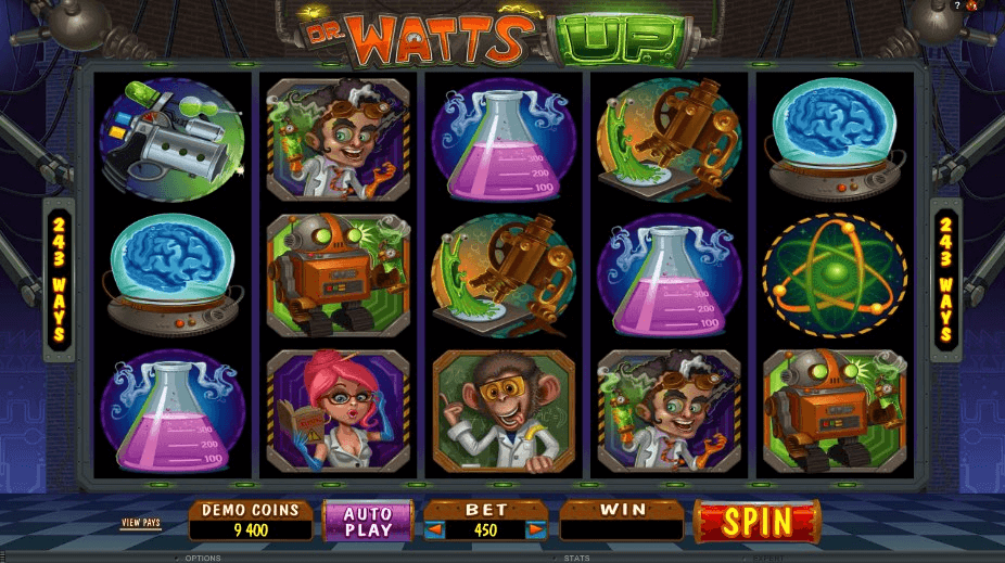 Dr Watts Up™ Slot spel spela gratis i Microgaming Online Casinon