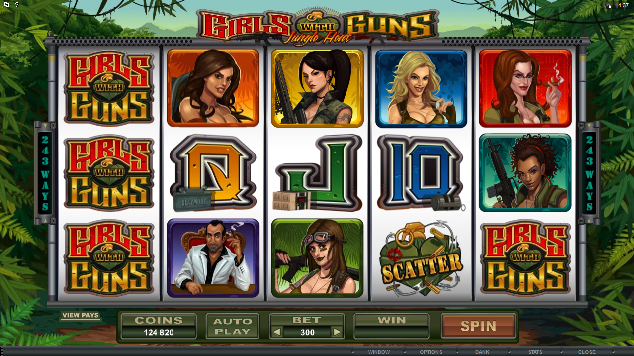 918Kiss(SCR888) Casino Tips Download Slot Game Girls with Guns Features :