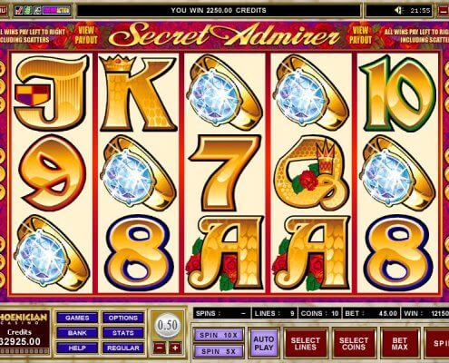 SCR888 Tips of Secret Admirer Slot Game: