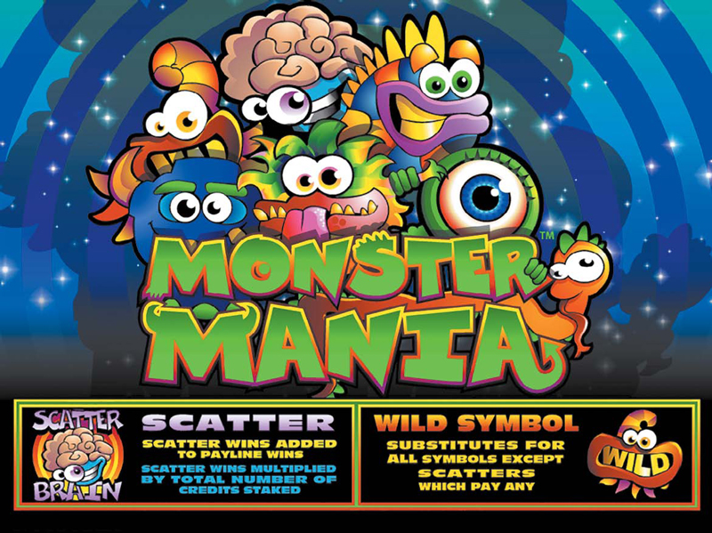 918Kiss(SCR888) Monster Mania Slot Game description:
