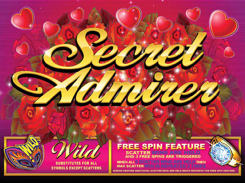 918Kiss(SCR888) Secret Admirer Slot Game description: