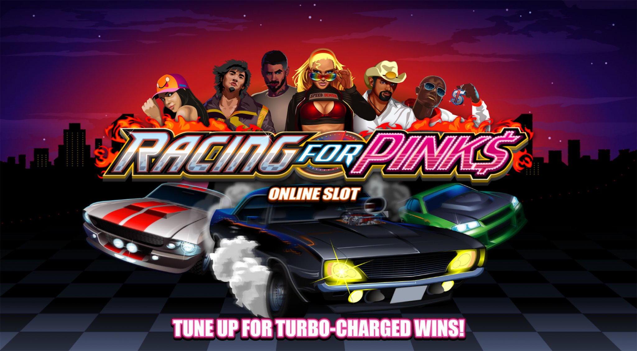 SCR888 Racing for Pinks Slot Game description: