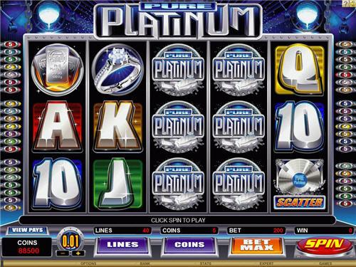 SCR888 Tips of Pure Platinum Slot Game